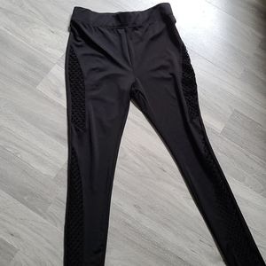 Rocawear Leggings with Netted Sides